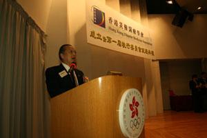 第一屆香港災難醫療學會會長謝德富醫生