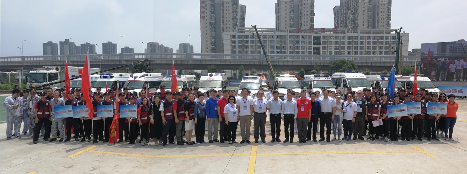香港災難醫療學會參與國內應急演練